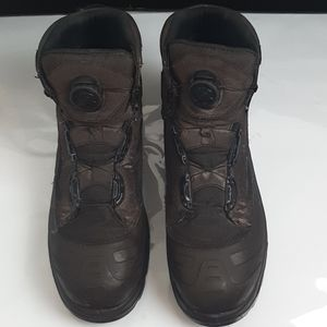 RED WING  BOA BOOTS WITH SHOE STRING MECHANISM